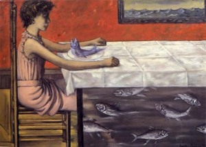 La Truite au Bleu (Pouched Trout), 1952 1a